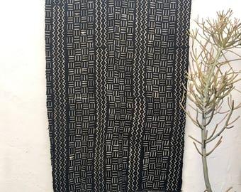 Black Mudcloth Fabric   African Mudcloth Textiles Mud cloth Fabric African Fabric African Mud Cloth Tribal Fabric Boho Decor Tribal Decor 35