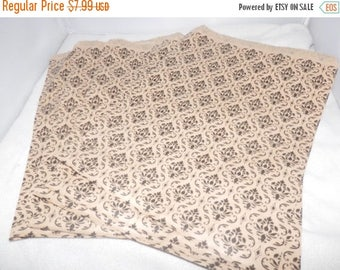 On Sale Damask  Print Merchandise Bags, Paper Bags, Gift Bags 8.5x11  100 pack