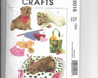 Uncut Sewing Pattern McCalls 5016 for Pet Items