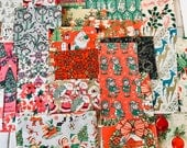 FOR TAMARA - Vintage Christmas Paper Packs for mini books, cards, smash books, mixed media, collage, altered art, tags, scrapbooks, gifts