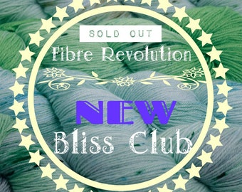 Yarn Club  -  'BLISS' Club  is SOLD OUT