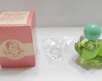 Vintage 1970s Avon Pretty Piglet Glass Decanter (5) .75 fl. oz. White Ginger Cologne