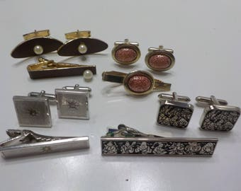Four (4) Vintage Cuff Links Sets (609)