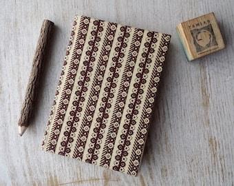 2018 weekly Diary Planner Calendar Agenda A6 week-to-view African Print Vibrant Unique Original Hardback - Ankara Kitenge Wax Capulana Print