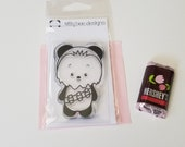 Chewy Panda Clear Stamp