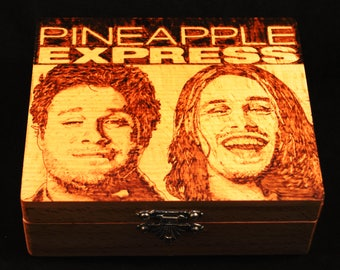Stash Box - Pineapple Express fan art with rolling tray