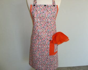 Artist Apron With Geometric Shapes