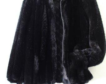80s Jordache faux fur