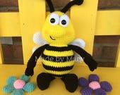 PDF PATTERN: Bumblebee Amigurumi *Crochet Pattern Only, Not Actual Doll*