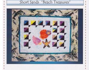 Robin's Quilt Nest, Short Sands Block of the Month Pattern, Block 1 - Beach Treasures