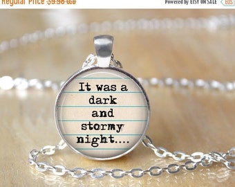 SUMMER SALE Writer's Necklace - Author's Necklace - Reader's Necklace - Book Necklace - Gift for Writer 177