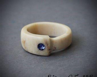 Antler rings + Swarovski