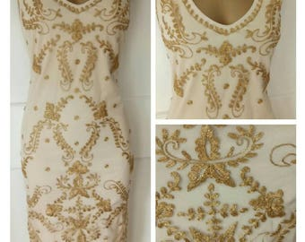 Great Gatsby dress, flapper outfit, 1920s, charleston, wedding, size uk16, us12, aus16, eu44