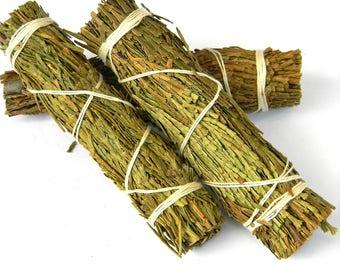 CEDAR SMUDGE STICK -  Ceremonial Cedar Smudge Stick - Cedar Smudge - Metaphysical