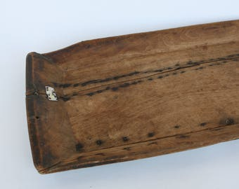 Traditional Italian wooden tray