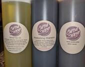 All-Natural Shampoo, Body Wash, Hair Oil
