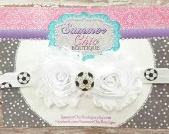 You Pick Colors - Soccer Headband, Soccer Baby Headband, Baby Headband, Baby Headband, Infant Headband, Newborn Headband, Baby Headband