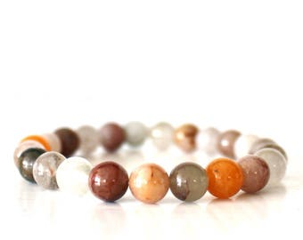 Rutilated Quartz healing bracelet
