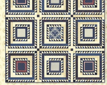 Minick and Simpson Sweet William Quilt Pattern