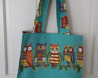Owl Reusable shopping bag