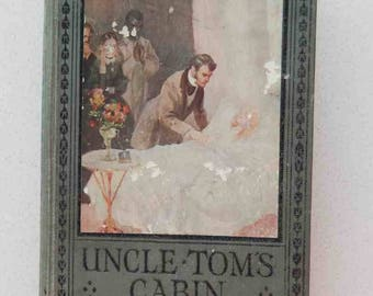 1900s Harriet Beecher Stowe Uncle Tom's Cabin Ward, Lock and Company Printing