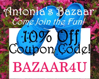 Coupon code free shipping etsy coupon code bazaar4u 10 off antoniasbazaar shop coupon codes free shipping on fandeluxe Image collections