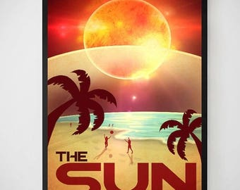 20% OFF SALE The Sun Experience Endless Summer Poster