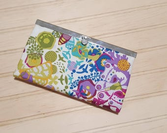 Diva Frame Wallet | Alison Glass Ex Libris | high quality materials | metal frame