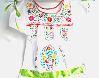 Traditional mexican dresses for babies
