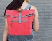 Range Backpack by Noodlehead - Backpack Sewing Pattern Tote Bag School Supplies Sewing Pattern Noodlehead Pattern Foldover Backpack Bag