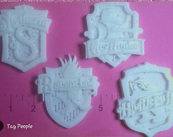 Harry Potter Crests Flexible Resin Mold
