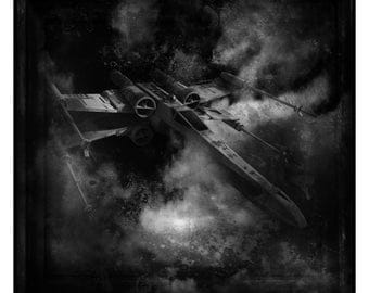 Star Wars X-Wing Fighter Photographic Print