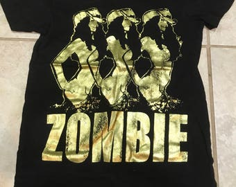 Vintage 90's The Cranberries Zombie Tee Shirt XS dolores o'roirdan