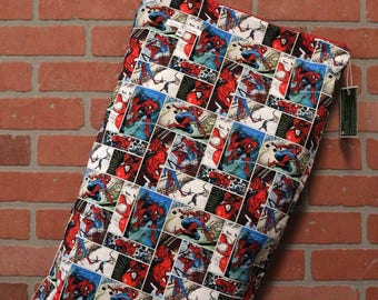 Wetbag, Spiderman, Cloth Diaper Storage, Diaper Pail Liner, Laundry Bag, Holds 20+ Diapers, Size XL with Handle #XL15