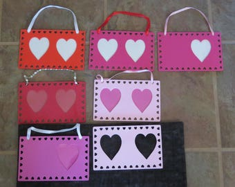 Foam Valentine's Day frames,double Heart shaped photo openings,ass't colors,Valentine Kid's craft