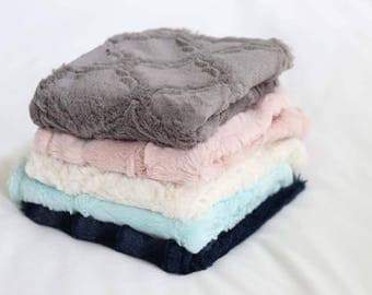 Minky Stroller Blankets