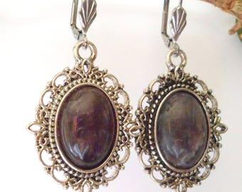 Victorian Amethyst earrings