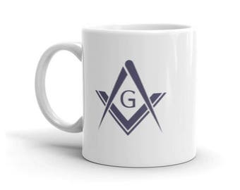 Freemason coffee Mug made in the USA