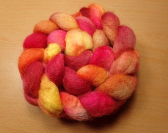 Summertime  - BFL  top in red, pink, peach, orange, yellow