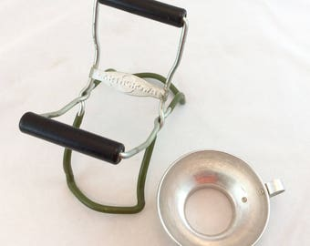 Retro Canning Jar Lifter and Canning Funnel, Canning Equipment