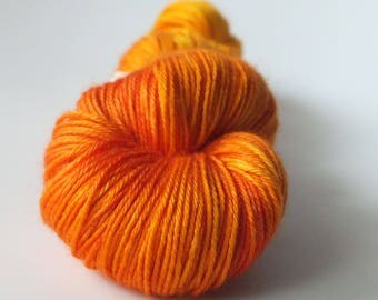TO order - skein of Superwash Merino / silk - Fingering / Sock - Captain Flam colors