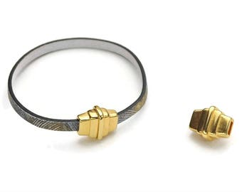 5MM Magnetic Clasp - Gold - Strong Magnet - Top Quality - Qty. 1