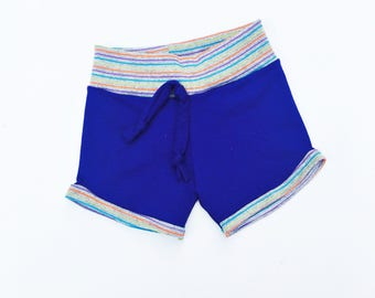 Purple Retro Children's Shorts