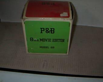 Vintage P& B 8mm Editor