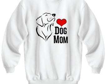 Dog Mom Mother's Day Gift Animal Lover Rescue Love Sweatshirt
