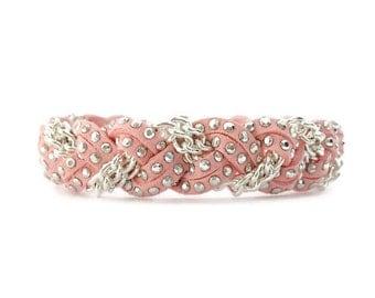 NEW Braided Bracelet in Milkshake