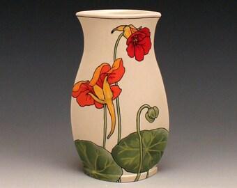 Nasturtium Vase