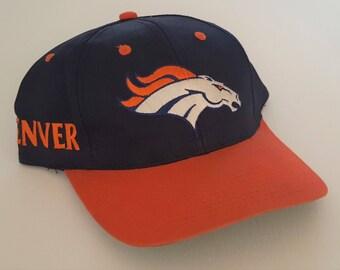 Vintage Denver Broncos Twins Snapback Hat  NFL Snap VTG