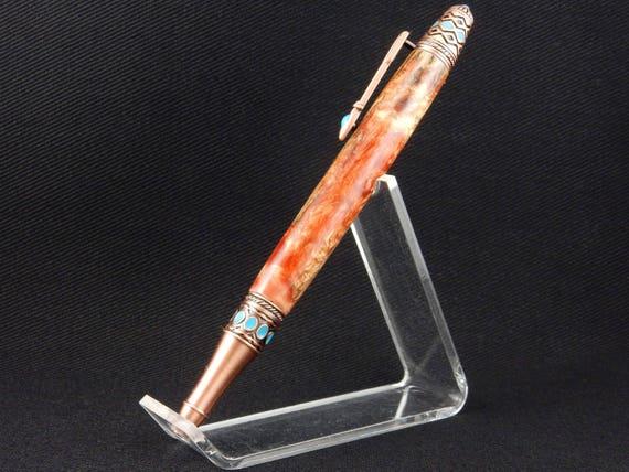 Handmade Arizona Cholla Skeleton Pen, Infused with Resin