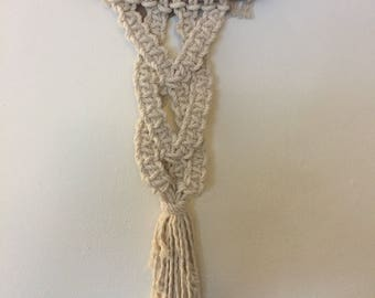 Small Braided wall hanging